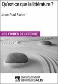 Qu'est-ce que la littérature? de Jean-Paul Sartre (eBook, ePUB)