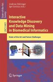 Interactive Knowledge Discovery and Data Mining in Biomedical Informatics (eBook, PDF)