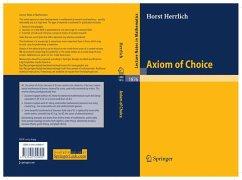 Axiom of Choice (eBook, PDF) - Herrlich, Horst