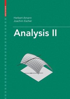Analysis II (eBook, PDF) - Amann, Herbert; Escher, Joachim