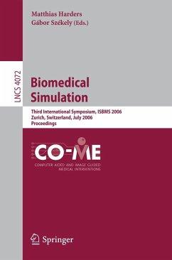 Biomedical Simulation (eBook, PDF)