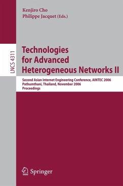 Technologies for Advanced Heterogeneous Networks II (eBook, PDF)