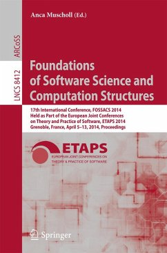 Foundations of Software Science and Computation Structures (eBook, PDF)