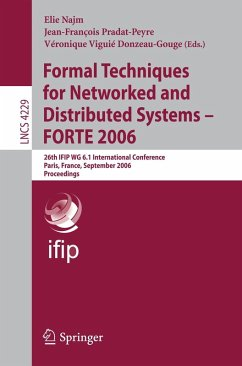Formal Techniques for Networked and Distributed Systems - FORTE 2006 (eBook, PDF)
