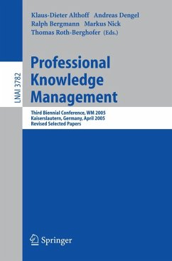 Professional Knowledge Management (eBook, PDF)