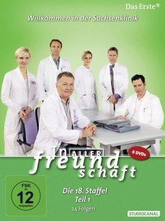 In aller Freundschaft - Die 18. Staffel, Teil 1, 24 Folgen (6 Discs)