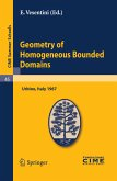 Geometry of Homogeneous Bounded Domains (eBook, PDF)