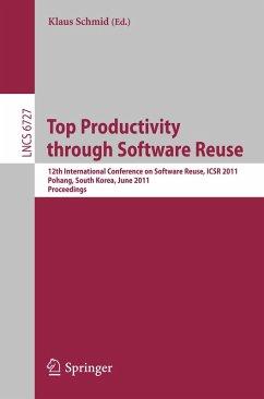 Top Productivity through Software Reuse (eBook, PDF)