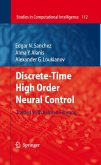 Discrete-Time High Order Neural Control (eBook, PDF)