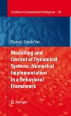 Modelling and Control of Dynamical Systems: Numerical Implementation in a Behavioral Framework (eBook, PDF)