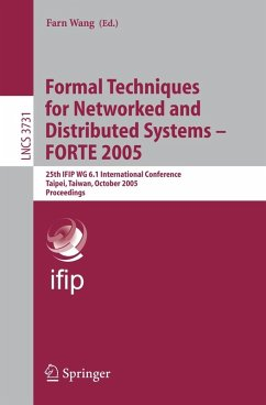 Formal Techniques for Networked and Distributed Systems - FORTE 2005 (eBook, PDF)