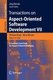 Transactions on Aspect-Oriented Software Development VII (eBook, PDF)