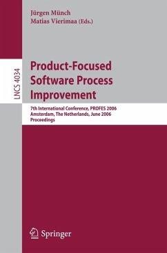 Product-Focused Software Process Improvement (eBook, PDF)