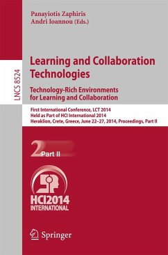 Learning and Collaboration Technologies: Technology-Rich Environments for Learning and Collaboration. (eBook, PDF)
