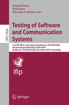 Testing of Software and Communication Systems (eBook, PDF)