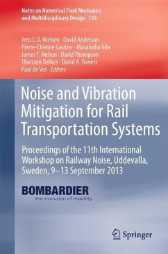 Noise and Vibration Mitigation for Rail Transportation Systems (eBook, PDF)