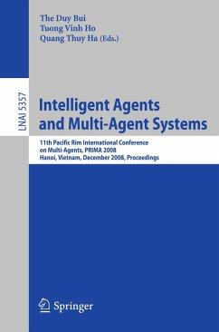 Intelligent Agents and Multi-Agent Systems (eBook, PDF)
