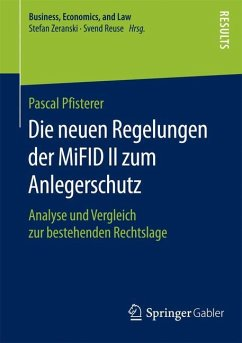 Die neuen Regelungen der MiFID II zum Anlegersc...