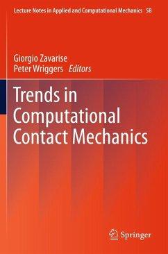 Trends in Computational Contact Mechanics (eBook, PDF)