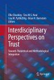 Interdisciplinary Perspectives on Trust (eBook, PDF)
