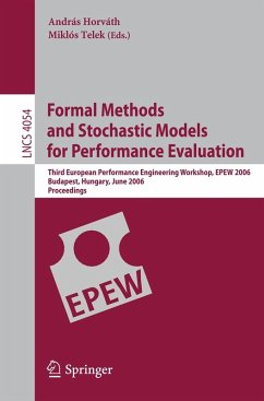 Formal Methods and Stochastic Models for Performance Evaluation (eBook, PDF)
