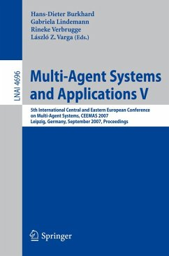 Multi-Agent Systems and Applications V (eBook, PDF)