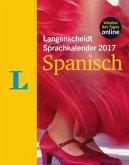 Langenscheidt Sprachkalender 2017 Spanisch Abreißkalender