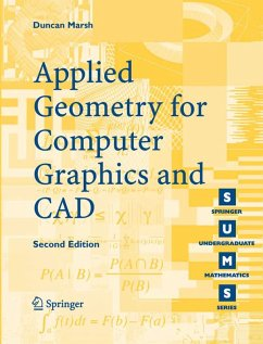Applied Geometry for Computer Graphics and CAD (eBook, PDF) - Marsh, Duncan