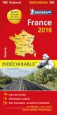Michelin Karte Frankreich 2016 (widerstandsfähig); Michelin Karte France 2016, Indéchirable
