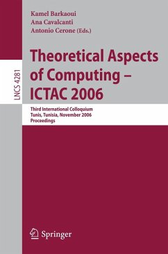 Theoretical Aspects of Computing - ICTAC 2006 (eBook, PDF)