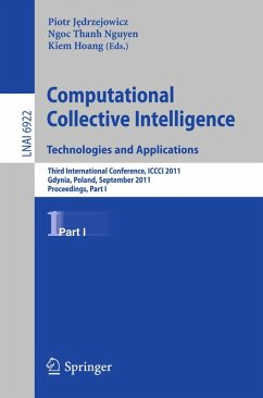 Computational Collective IntelligenceTechnologies and Applications (eBook, PDF)