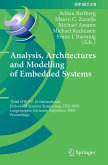 Analysis, Architectures and Modelling of Embedded Systems (eBook, PDF)