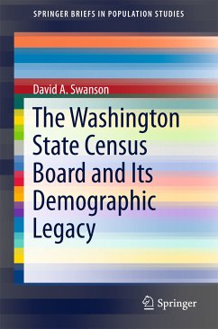 The Washington State Census Board and Its Demographic Legacy (eBook, PDF) - Swanson, David A.