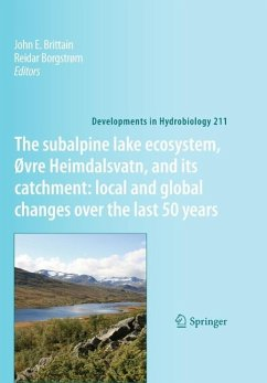The subalpine lake ecosystem, Øvre Heimdalsvatn, and its catchment: local and global changes over the last 50 years (eBook, PDF)