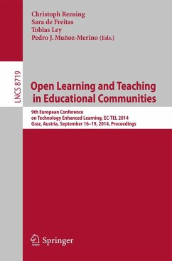 Open Learning and Teaching in Educational Communities (eBook, PDF)