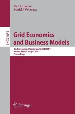 Grid Economics and Business Models (eBook, PDF)