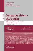 Computer Vision - ECCV 2008 (eBook, PDF)