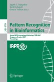 Pattern Recognition in Bioinformatics (eBook, PDF)