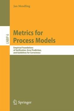 Metrics for Process Models (eBook, PDF) - Mendling, Jan