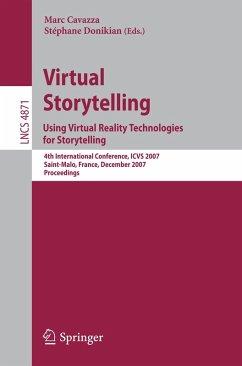 Virtual Storytelling. Using Virtual Reality Technologies for Storytelling (eBook, PDF)