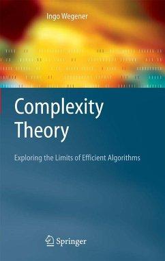 Complexity Theory (eBook, PDF) - Wegener, Ingo