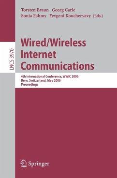 Wired/Wireless Internet Communications (eBook, PDF)