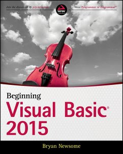 Beginning Visual Basic 2015 (eBook, ePUB) - Newsome, Bryan