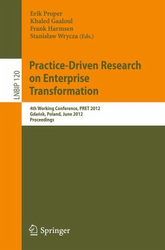 Practice-Driven Research on Enterprise Transformation (eBook, PDF)
