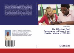 The Effects of Bad Governance in Kenya: Post Election Violence 2007-08