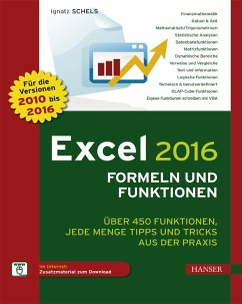 Excel 2016 Formeln und Funktionen - Schels, Ignatz