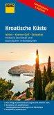 ADAC Karte Campingkarte Kroatische Küste