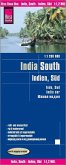 Reise Know-How Landkarte Indien, Süd (1:1.200.000); South India / Inde, Sud / India sur