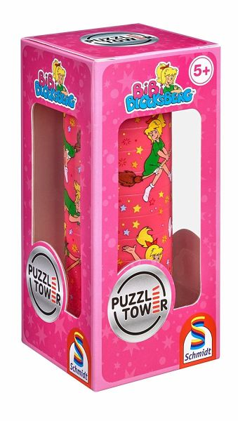 puzzle tower f r kinder bibi blocksberg kinderpuzzle. Black Bedroom Furniture Sets. Home Design Ideas