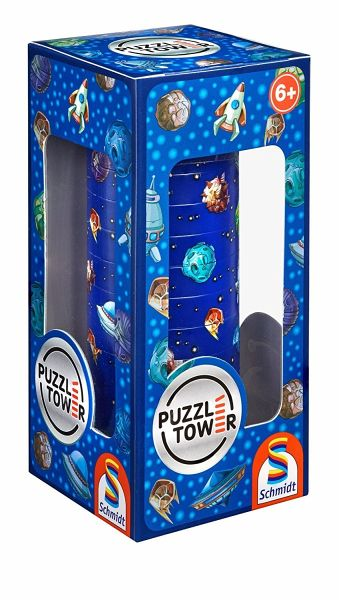 puzzle tower f r kinder kinderpuzzle weltraum. Black Bedroom Furniture Sets. Home Design Ideas